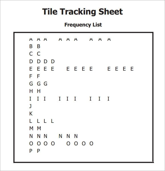 FREE 14+ Sample Editable Tracking Sheets in Google Docs