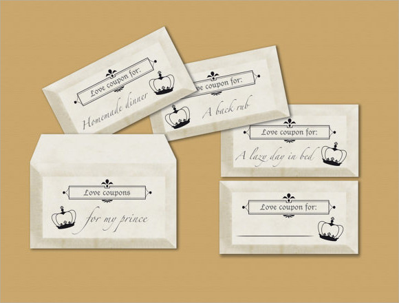 10 Sample Blank Coupon Templates To Download Sample