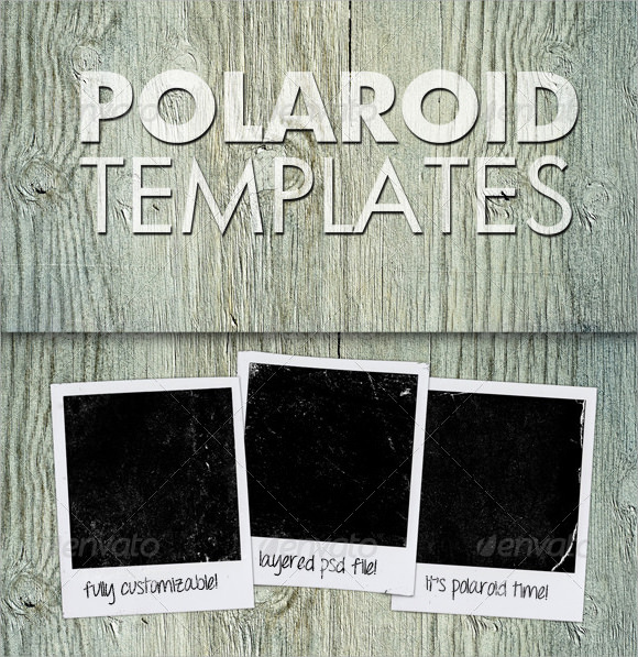 9 Amazing Polaroid Templates To Download Sample Templates