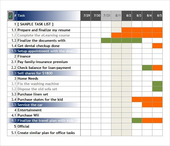 Project task tracker excel template. Free 6 Task Tracking Samples In Pdf Ms Word Excel