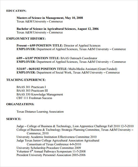 sample best resume format 2015