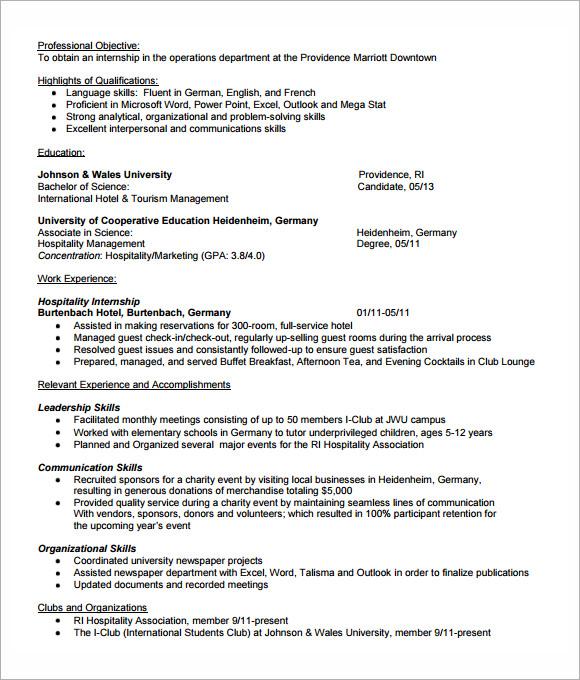 microsoft business internship
