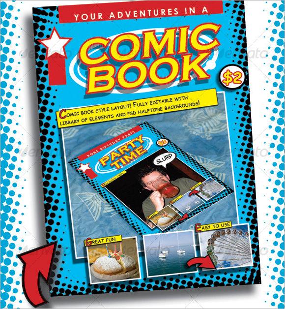 comic book script template