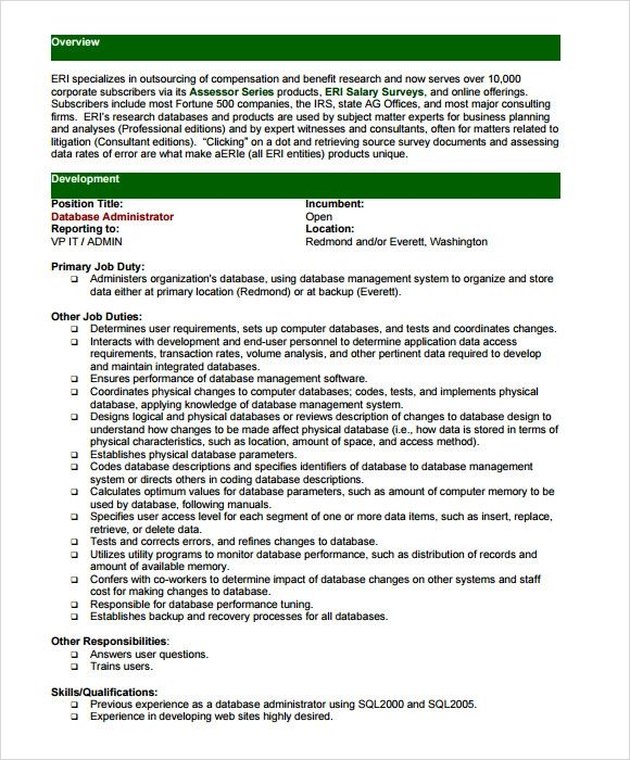 resume objective sample it