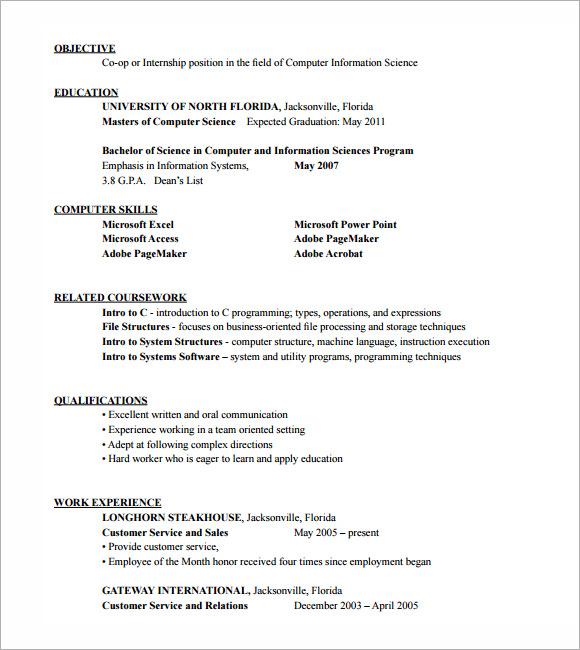 hvac sample resume