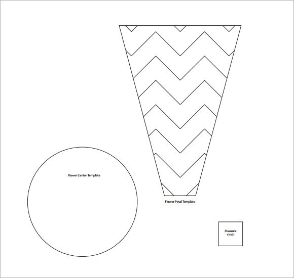 FREE 9+ Beautiful Sample Flower Petal Templates in PDF