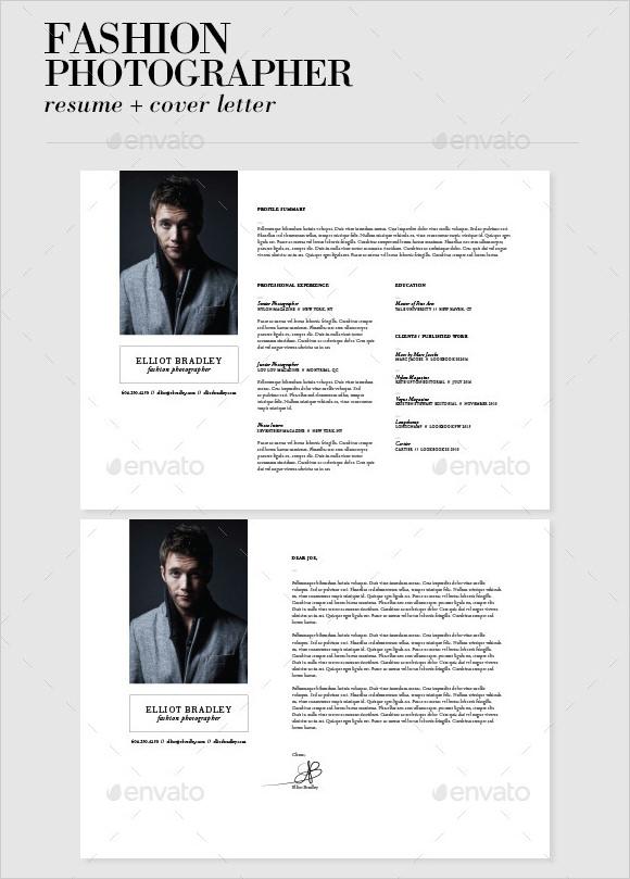fashion model resume sample