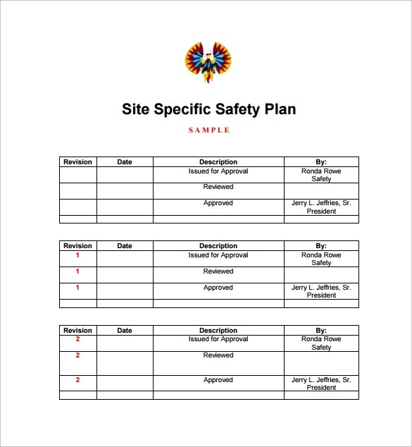 FREE 13+ Safety Plan Templates in Google Docs   MS Word   Apple Pages