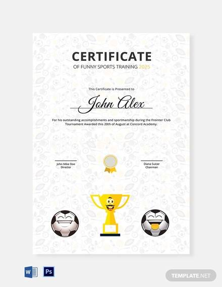 30+ Training Certificate Templates