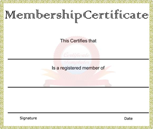 Llc Membership Certificate Template Word Resume Format Of