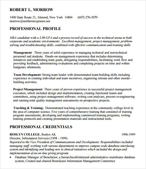 Wharton Mba Resume Book Pdf | Resume Sample For No Job ...
