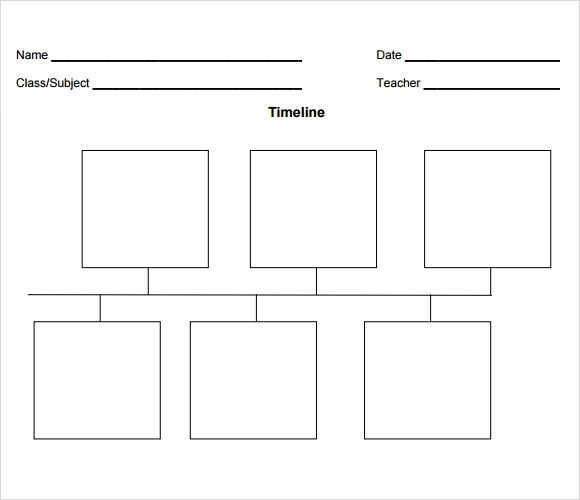 Simple Timeline Template 10 Download Free Documents In