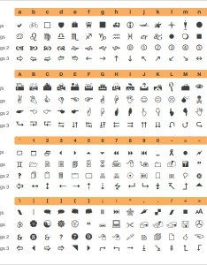 Wingdings Chart | Microsoft Word Wingdings Chart Www Homeschoolingforfree Org