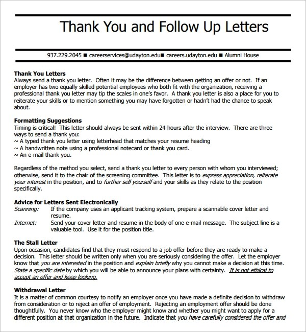 9+ Follow Up Email After Interview | Sample Templates