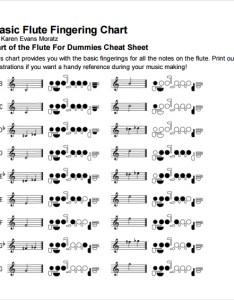 basic flute fingering chart also templates free download sample rh sampletemplates