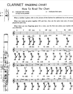 Clarinet fingering chart for beginners also sample free documents in pdf rh sampletemplates