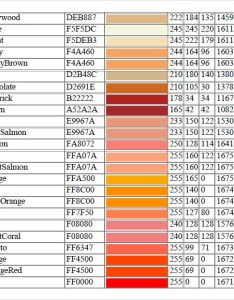 Decimal rgb color chart also charts free sample example format rh sampletemplates
