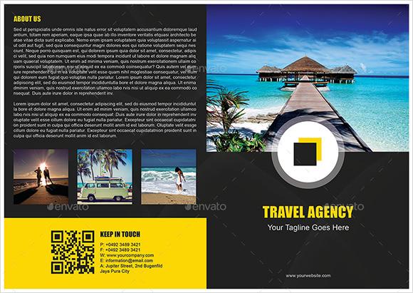 14 Travel Brochures AI PSD Google Docs Apple Pages