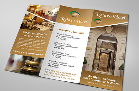 13 Hotel Brochures Sample Templates
