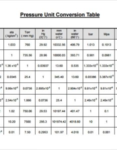Unit conversion chart example also sample charts templates rh sampletemplates