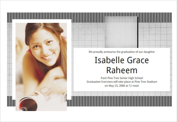 9 Graduation Announcement Templates for Free Download  Sample Templates