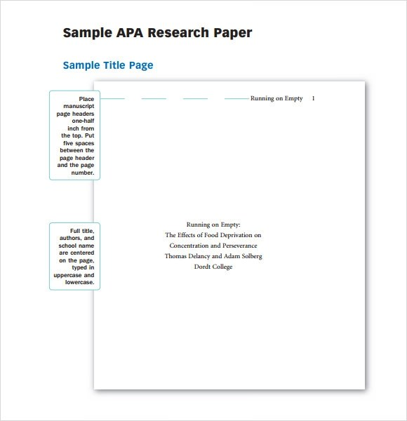 Sample Report Writing Format  6 Free Documents in PDF