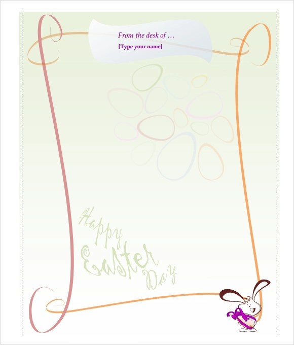 Easter Bunny Letter 7 Download Free Documents In PDF Word