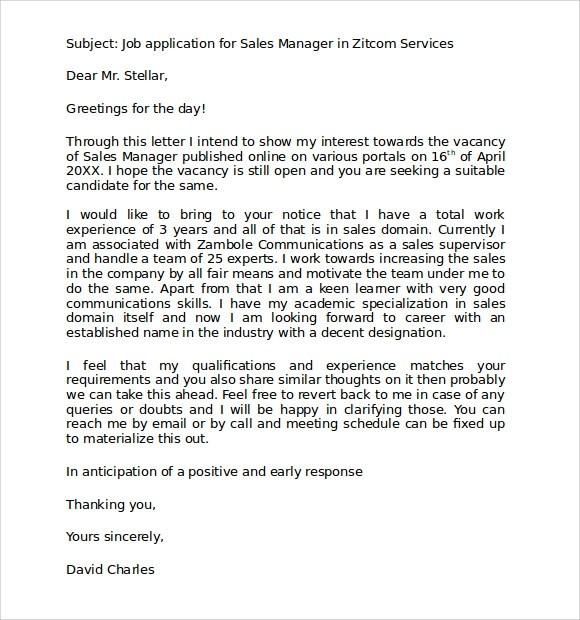 Cover Letter Standard Resume Objective