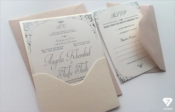 Wedding Gift Envelope Template