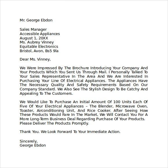 letter of intent to start a business – Letter of Intent to Purchase Business Template