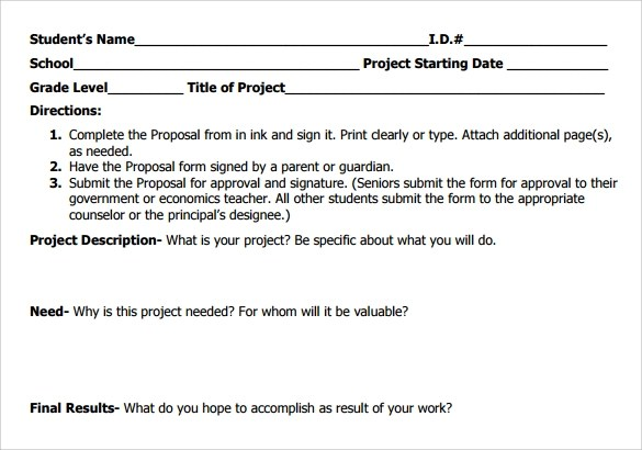 16 Service Proposal Samples Sample Templates