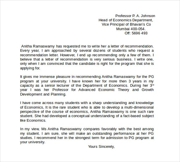 Work Reference Letters Download in PDF, Word   Sample Templates