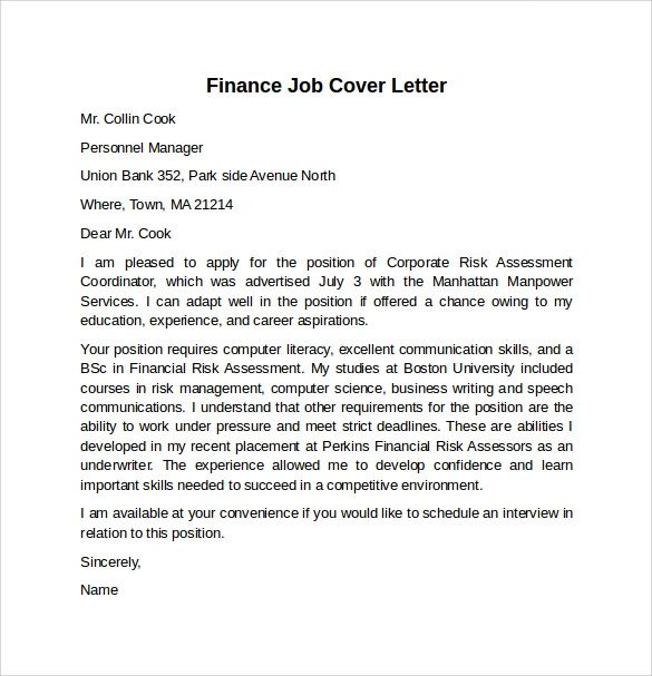 cover letter example for it jobs