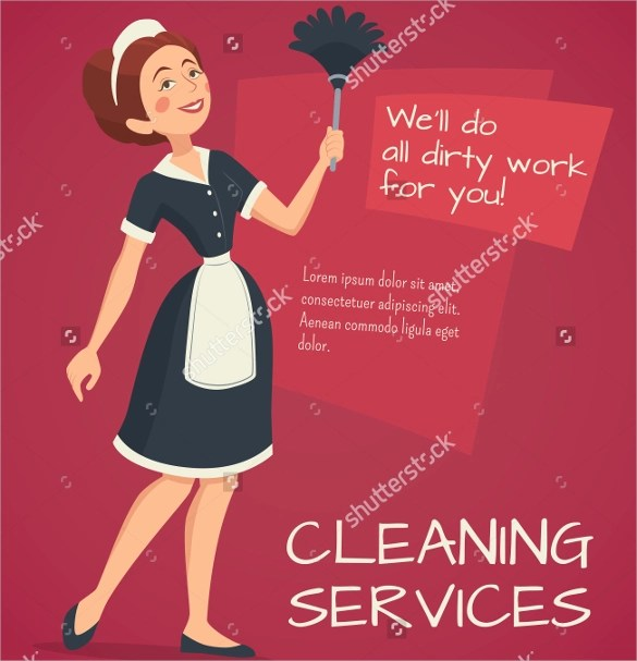 10 House Cleaning Flyer Templates to Download  Sample
