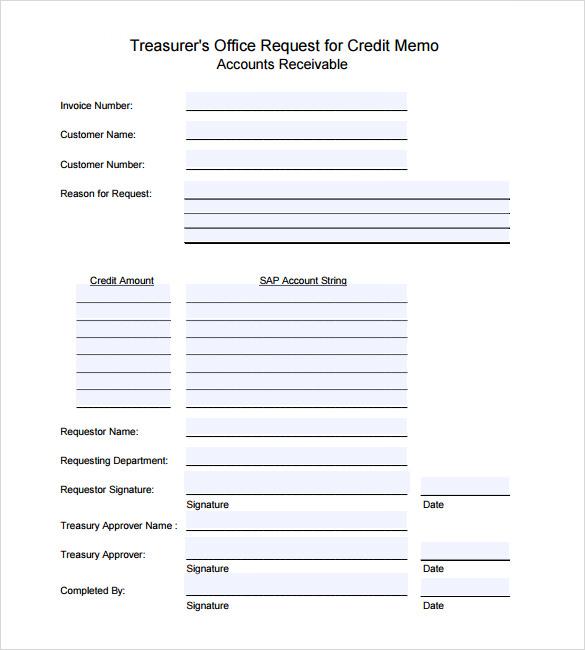 ... Credit Memo Templates Credit Memo Template   13+ Free Word, Excel   Credit  Memo ...  Credit Memo Sample