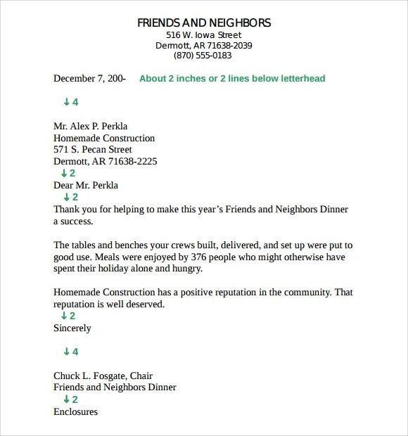 apa format cover letter sample