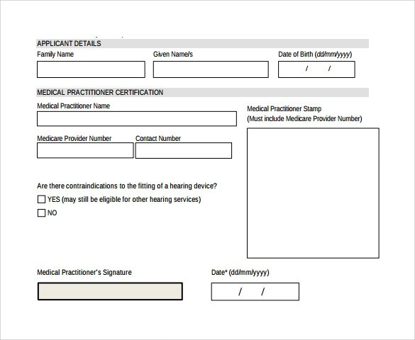 Medical Certificate  17 Download Free Documents In PDF Word