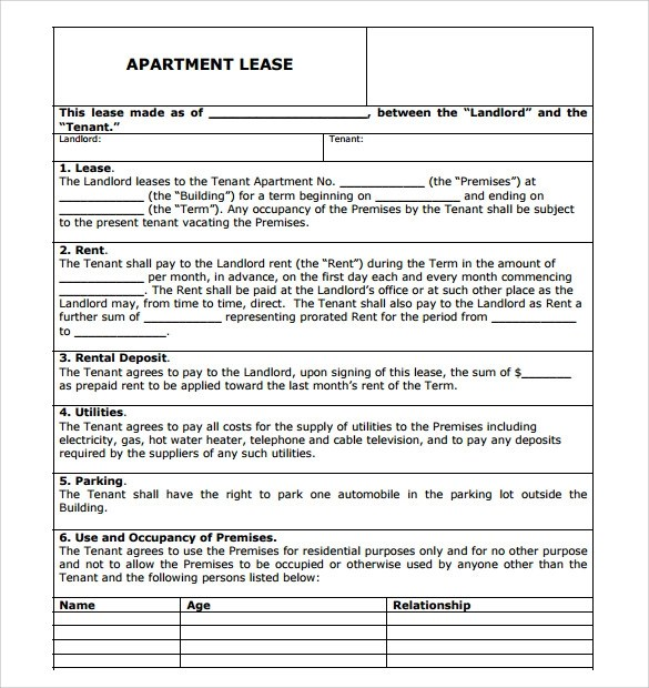 Rent Agreement Format Pdf Blank Job Invoice Template