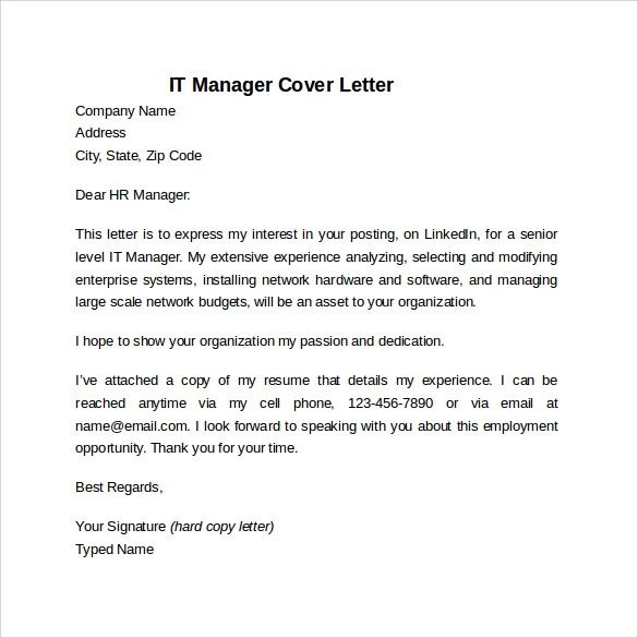 what to put in cover letter for job