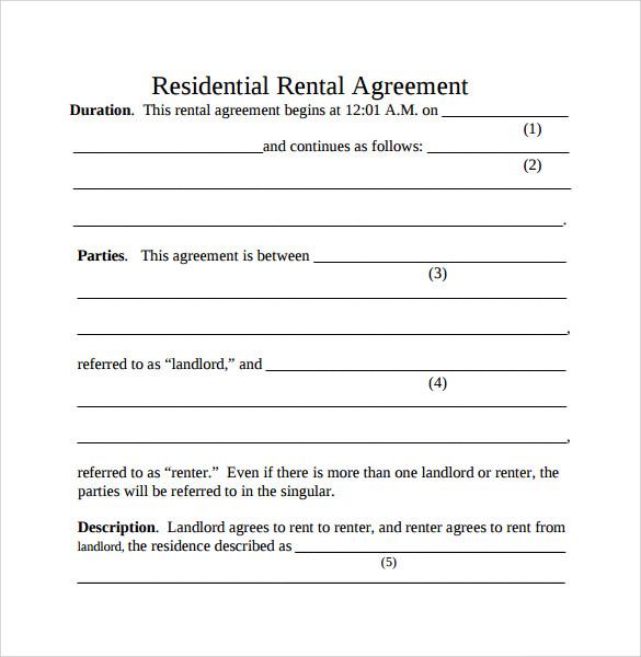 Simple Room Rental Agreement Form Free Create Professional