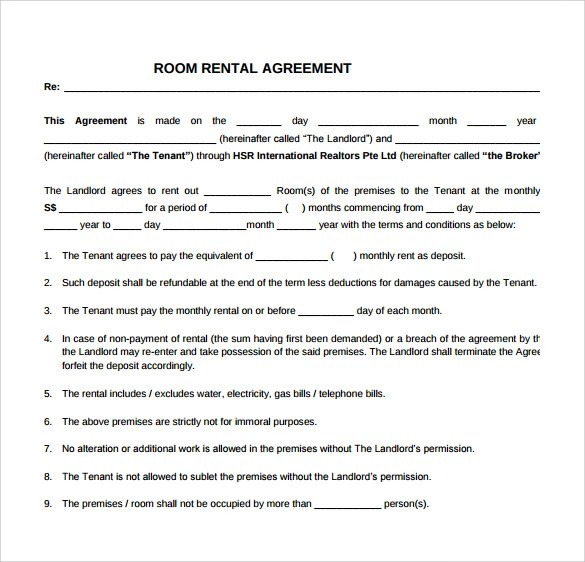 Simple Rental Agreement  11 Download Free Documents In PDF Word