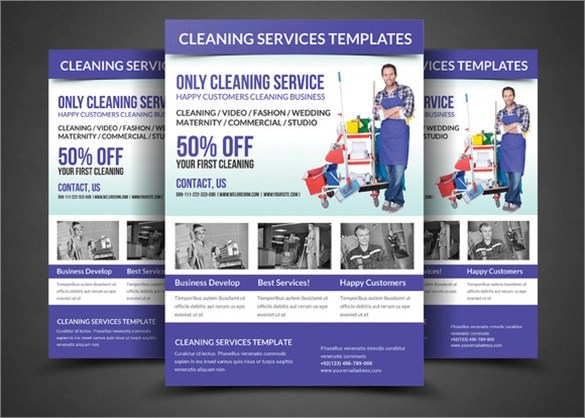 House Cleaning Flyer Template  9 Download Documents in PSD Vector EPS