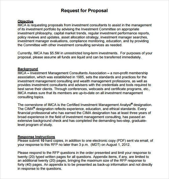 7 Catering Proposal Samples Sample Templates