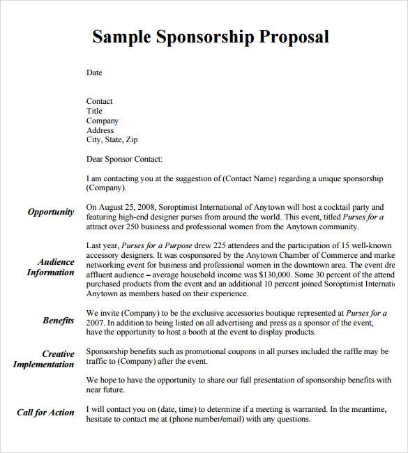28 Formal Proposal Templates Sample Templates
