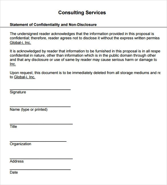 Sample Service Proposal Template 6 Documents In PDF Word