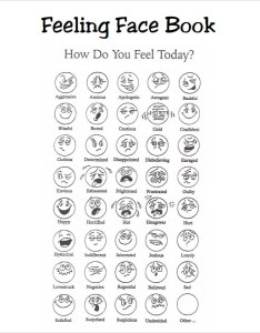 Feelings face book also sample charts  pdf templates rh sampletemplates