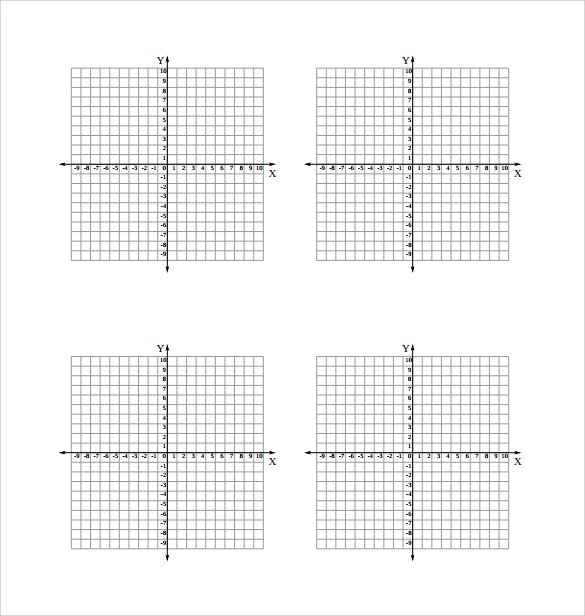 8 Sample Numbered Graph Paper Templates Download for Free