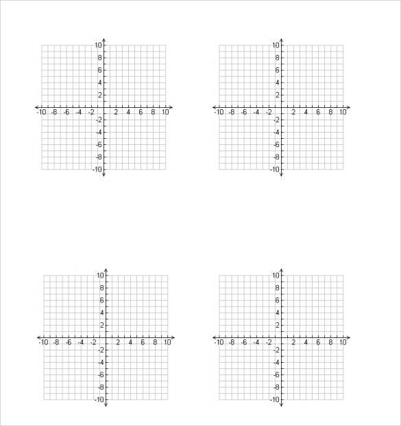 free graph paper for algebra