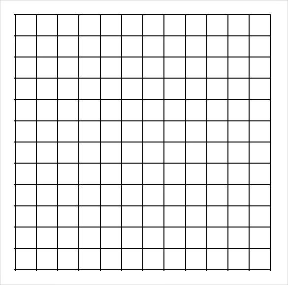 graphing paper printable template