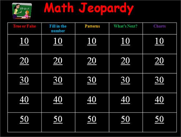 8 Classroom Jeopardy Templates Sample Templates